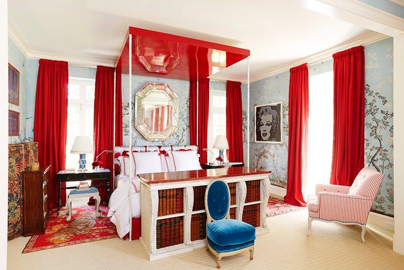 10 idee per decorare con il rosso