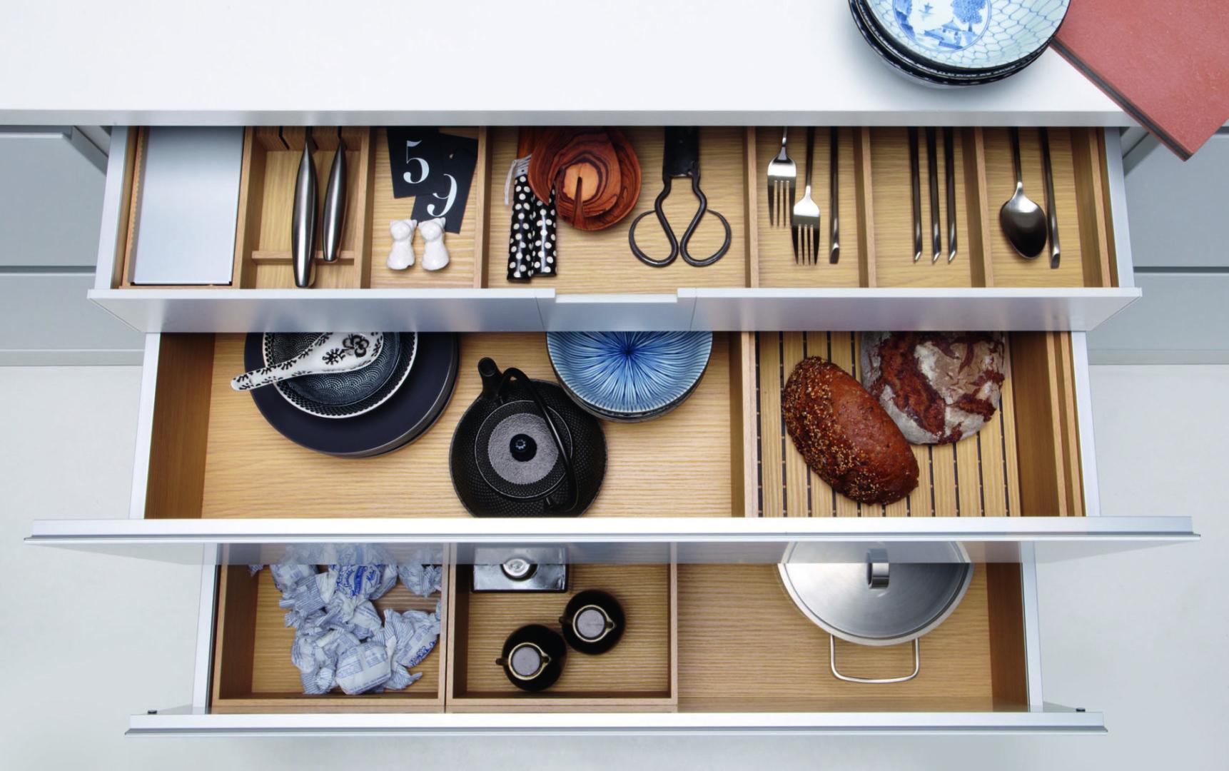 Schubkastensysteme Holz 1 scaled - Accessori cucina